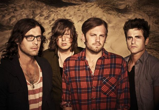 Kings of Leon back on tour.