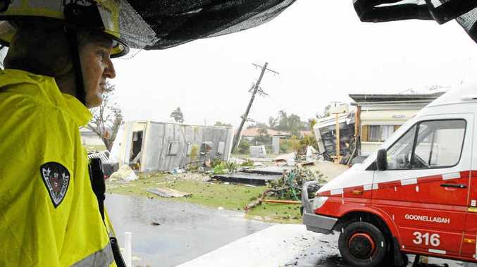 Some Lennox Head residents affected by the tornado that ripped through the town last year are still fighting to get money from insurance companies, the chamber of commerce says.