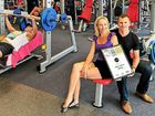 Cristy and Brendon Levenson at their award winning gym at Peregian Springs. Jetts 24 Hour Fitness employs more than 300 people