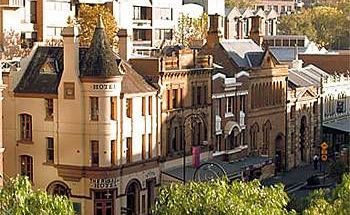 The Russell Hotel, Sydney.