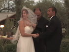 Wedding goes on despite dust storm