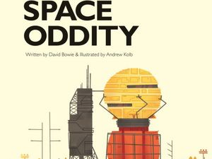 David Bowie's Space Oddity - as a children's book