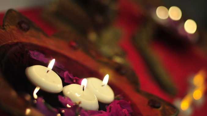 Lamps are lit at Diwali to symoblise the triumph of light over darkness, good over evil and knowledge over ignorance.