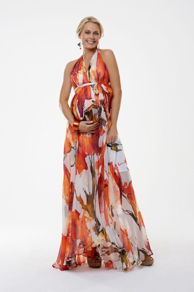 Sacha Drake Cheryl Dress in Orange Blossom.