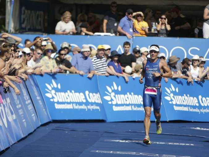Noosa Triathlon Elite men's and women's race. Courtney Atkinson Photo: Cade Mooney / Sunshine Coast Daily