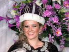Jacaranda Queen for 2011 Nikki Mackie, pictured after her crowning ceremony at Market Square