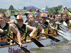 Regatta paddlers storm to success