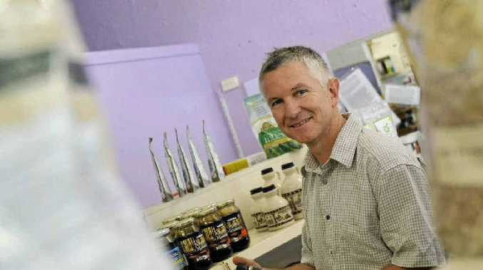 Michael Smith is a Naturopath at The Health Nut, Toolooa St, and he believes reading food labels is extremely important.
