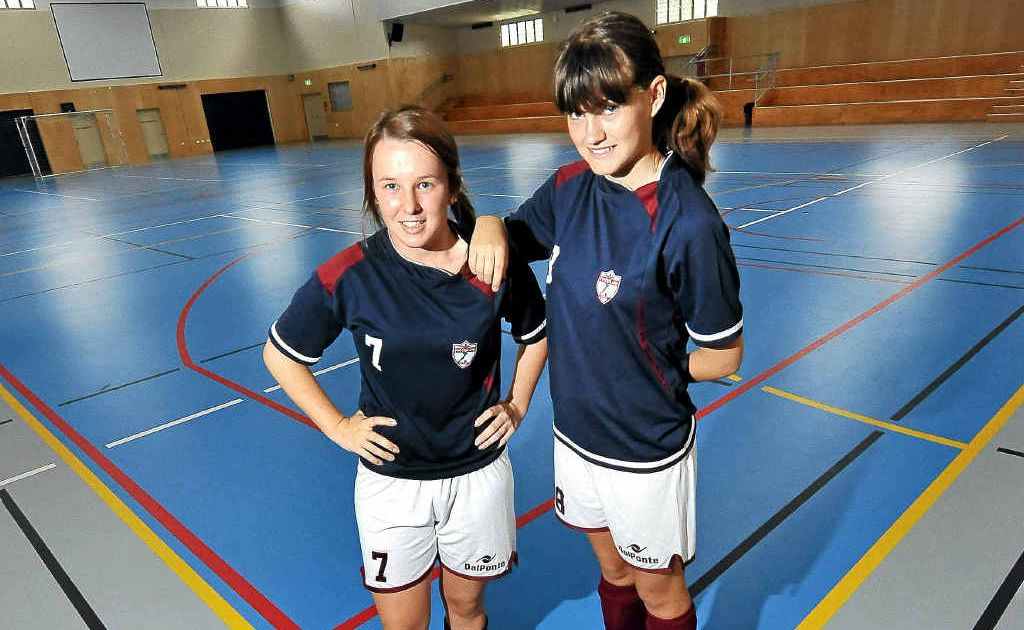 Tess Williams and Amelia McLeod have been selected in the Australian Futsal Team.