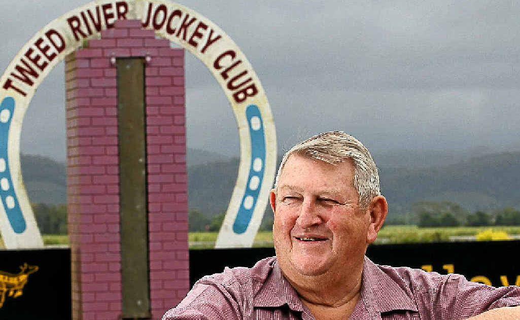 Tweed River Jockey Club chairman Bernie Quinn.