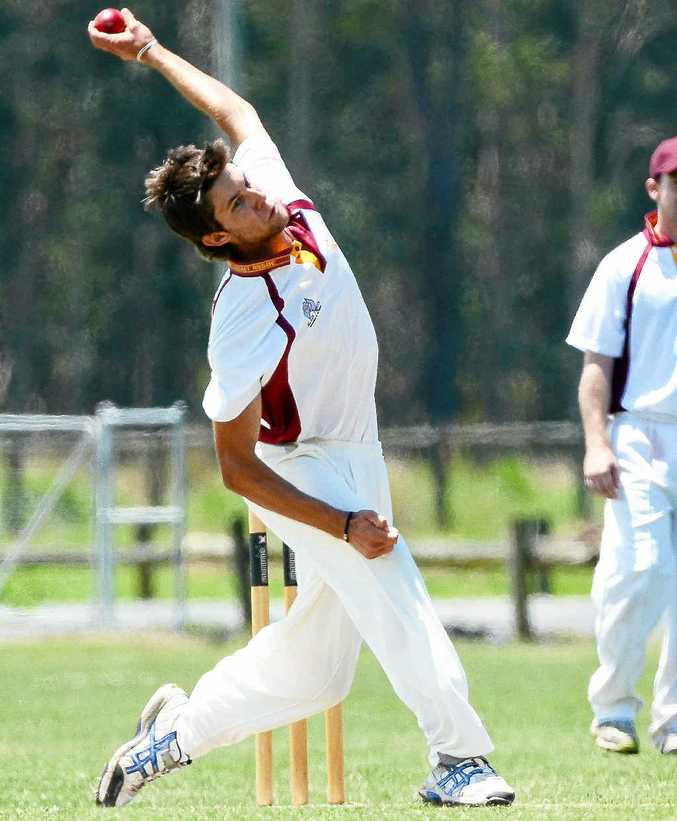Brad Chard took 3-33 for Clarence River against Coffs Harbour.