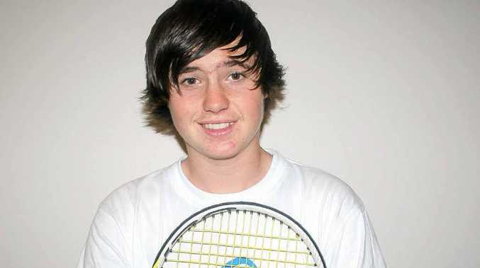 Alstonville's Daniel Parry wants to take on Rafael Nadal one day.