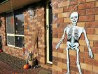Kylie Forrest's home in Glen Eden was decorated for Halloween.