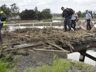 Velocity of water hampered recovery