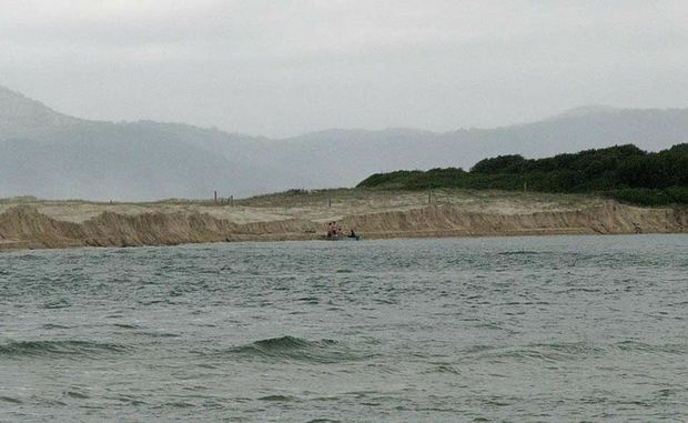 Two body boarders have been swept out to sea at the mouth of the Nambucca River.