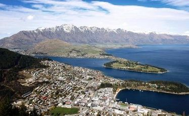 Queenstown and Southern Lakes is eighth on Lonely Planet's list of the best regions to visit in 2012.