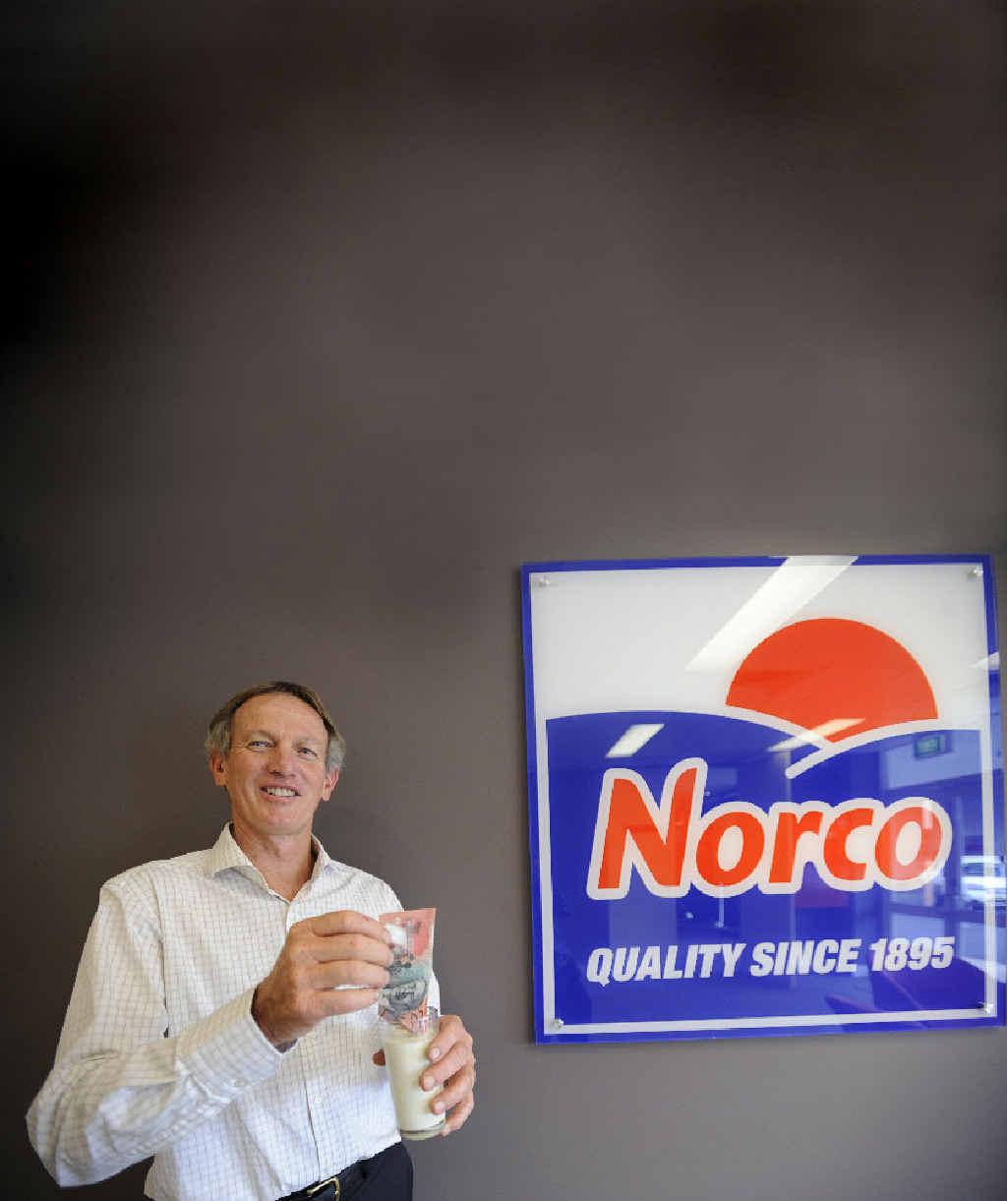 Norco Co-operative Ltd chairman Greg McNamara.