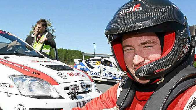 Ryan Smart is aiming for his first Australian Rally Championship.