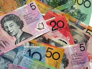 Aussie dollar up against the Euro