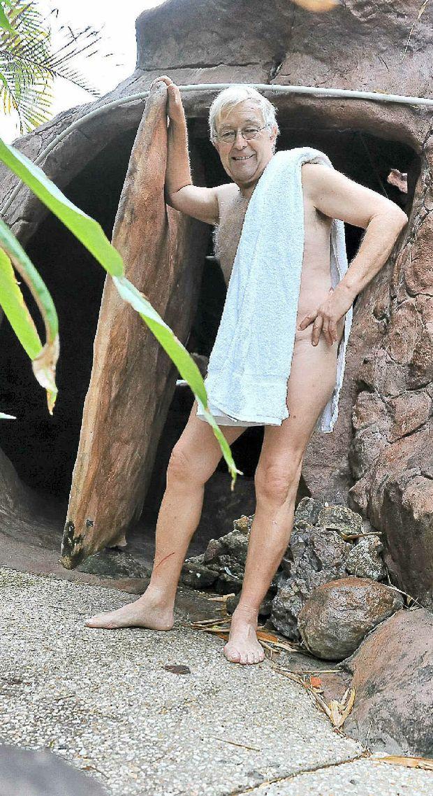 Doonan bed and breakfast owner Rainer Mueckenberger has started Noosa's first nudist retreat.