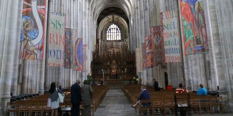 Winchester Cathedral is still on a slight backwards lean, the result of it being built over marshlands.