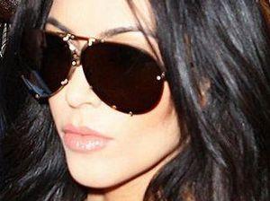 Kardashian flees before race day