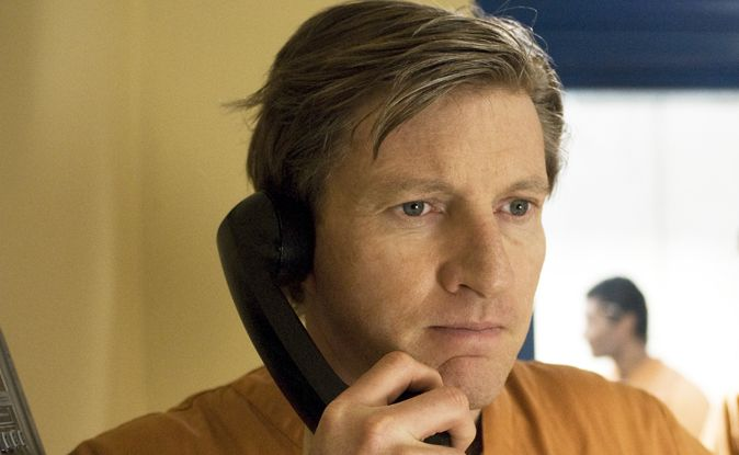 David Wenham plays lawyer Andrew Fraser in the pay-TV series Killing Time.