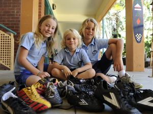 Rugby boots to Kenya