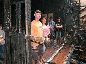 Family's plea: let us rebuild