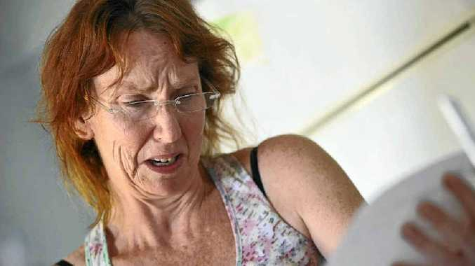 Michelle Dyson has cancer but has been given notice to leave her rented home.