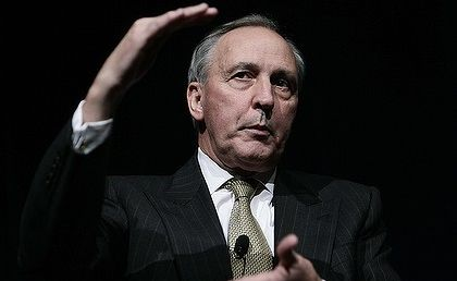 'A Punch and Judy show' ... former prime minister Paul Keating says he wouldn't be caught dead on the ABC's Q&A; program.