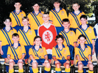 """Ashley Birt (bottom right) with his under-13 team mates in the 2000 State Titles in Gympie. Back then, Birty was only 11 playing up a division. <a href=""""http://media.apnonline.com.au/img/media/images/2011/11/03/hockey.png"""" />See larger image</a>"""