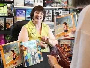 Author lives out lifelong dream