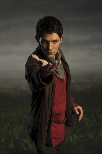 Colin Morgan plays Merlin in the Channel 10 series.