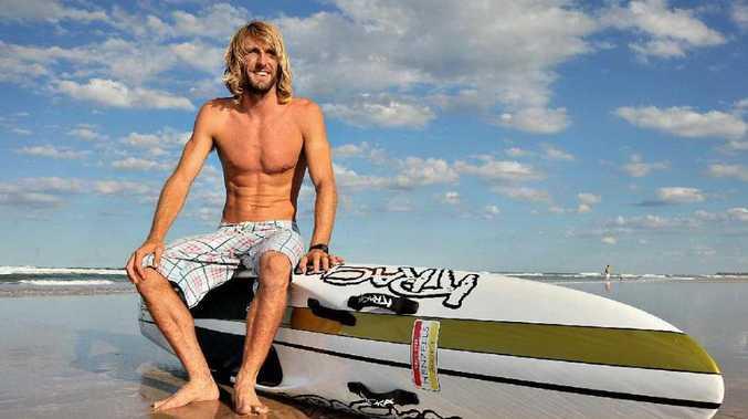 Corey Jones, defending Queensland ironman champion