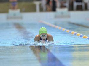 Records smashed at swim meet