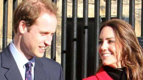 Britain's Duke and Duchess of Cambridge.