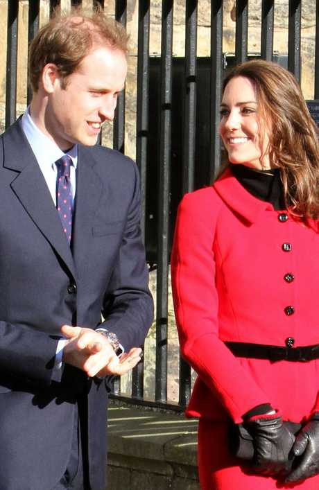 Britain's Duke and Duchess of Cambridge.