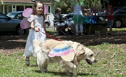 Emma Coyle  and her dog Ella.