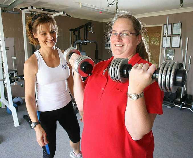 Judy Scott from PhysFitt is helping many people like Sharlene Proctor to combat diabetes.