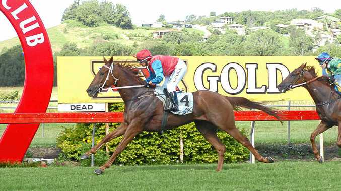 Ten-year-old Royal Chariot, crossing the line first at Lismore, is expected to run well today.