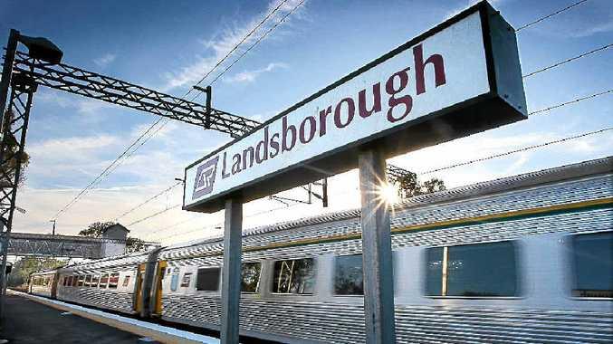 Landsborough train station