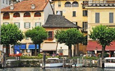 Lake Orta, northern Italy.