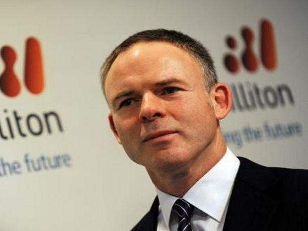 BHP CEO Marius Kloppers.
