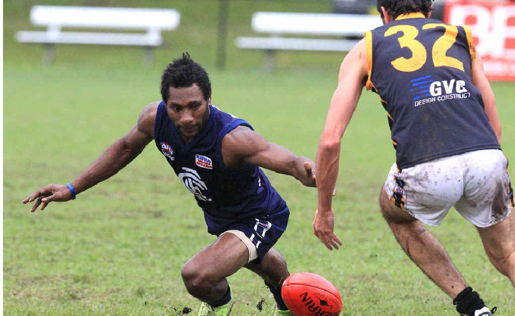 Paul Philip will wear the blue jersey again next year after impressing for Cooolangatta in 2011.