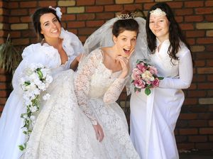 Gorgeous gowns span generations