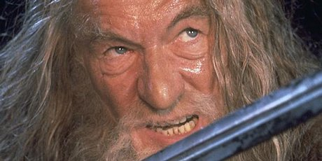 Sir Ian McKellen initially turned down the role of Gandalf in Lord of the Rings because of a clash with his X-Men movie.