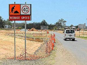 Roadwork nears finish