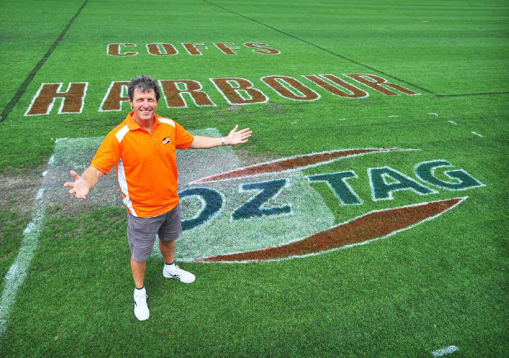 Tournament director Bill Harrigan.