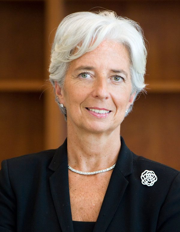 Managing Director, IMF - Photo: IMF